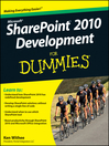 SharePoint 2010 Development For Dummies (eBook)