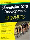 SharePoint 2010 Development For Dummies (eBook)