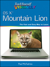 Teach Yourself VISUALLY OS X Mountain Lion (eBook)