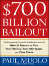 $700 Billion Bailout (eBook): The Emergency Economic Stabilization Act and What It Means to You, Your Money, Your Mortgage and Your Taxes