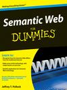 Semantic Web For Dummies® (eBook)