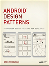 Android Design Patterns (eBook): Interaction Design Solutions for Developers