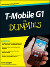 T-Mobile G1 For Dummies® (eBook)