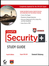 CompTIA Security+<sup>TM</sup> Study Guide (eBook): Exam SY0-201