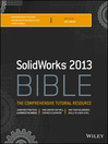 Solidworks 2013 Bible (eBook)