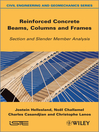Reinforced Concrete Beams, Columns and Frames (eBook): Section and Slender Member Analysis
