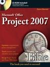 Microsoft Project 2007 Bible (eBook)
