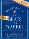 The Little Book That Still Beats the Market (eBook)