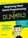 Beginning Flash Game Programming For Dummies (eBook)