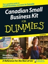 Canadian Small Business Kit For Dummies (eBook)