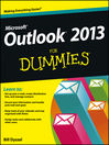 Outlook 2013 For Dummies (eBook)