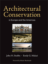 Architectural Conservation in Europe and the Americas (eBook)