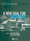 A New Deal for Transport (eBook): The UK's struggle with the sustainable transport agenda
