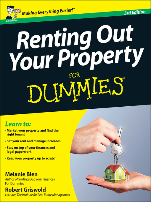 Renting Out Your Property For Dummies (eBook)