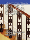 Interior Finishes and Fittings for Historic Building Conservation (eBook)