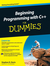 Beginning Programming with C++ For Dummies (eBook)