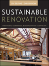 Sustainable Renovation (eBook): Strategies for Commercial Building Systems and Envelope