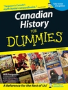 Canadian History for Dummies (eBook)
