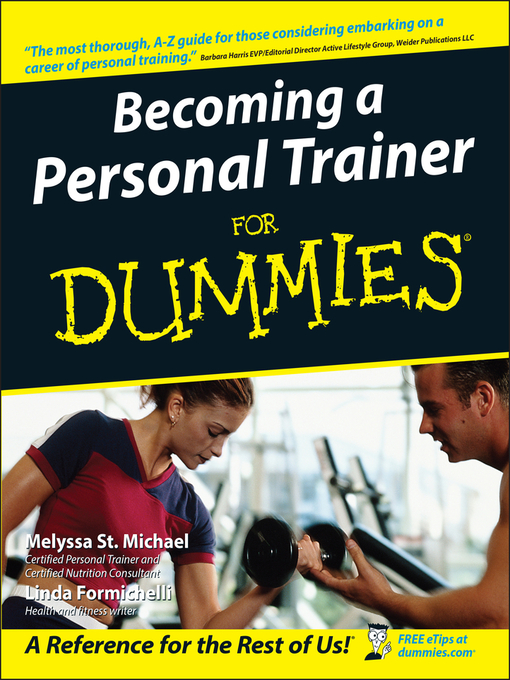 Becoming a Personal Trainer For Dummies (eBook)