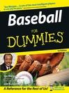 Baseball For Dummies (eBook)