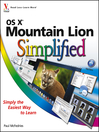 OS X Mountain Lion Simplified (eBook)