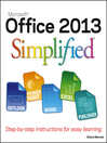 Office 2013 Simplified (eBook)