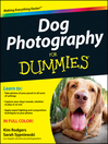 Dog Photography For Dummies (eBook)