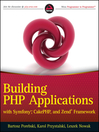 Building PHP Applications with Symfony, CakePHP, and Zend Framework (eBook)