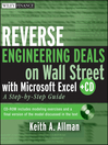 Reverse Engineering Deals on Wall Street with Microsoft Excel (eBook): A Step-by-Step Guide