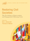 Restoring Civil Societies (eBook): The Psychology of Intervention and Engagement Following Crisis