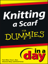 Knitting a Scarf In a Day For Dummies (eBook)