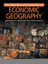 The Wiley-Blackwell Companion to Economic Geography (eBook)