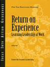 Return on Experience (eBook)