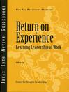 Return on Experience (eBook)