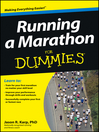 Running a Marathon For Dummies (eBook)