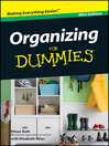 Organizing For Dummies (eBook)