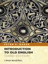 Introduction to Old English (eBook)