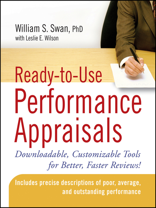 Ready-to-Use Performance Appraisals (eBook): Downloadable, Customizable Tools for Better, Faster Reviews!