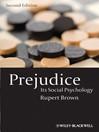 Prejudice : its social psychology