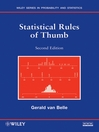 Statistical Rules of Thumb (eBook)