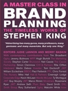 A Master Class in Brand Planning (eBook): The Timeless Works of Stephen King
