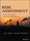 Risk Assessment (eBook): Tools, Techniques, and Their Applications