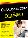 QuickBooks 2012 For Dummies (eBook)
