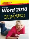 AARP Word 2010 For Dummies (eBook)