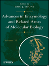 Advances in Enzymology and Related Areas of Molecular Biology (eBook)