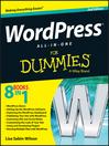 WordPress All-in-One For Dummies (eBook)
