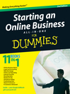 Starting an Online Business All-in-One Desk Reference For Dummies® (eBook)