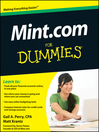 Mint.com For Dummies (eBook)