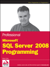 Professional Microsoft SQL Server 2008 Programming (eBook)
