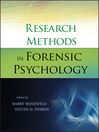 Research Methods in Forensic Psychology (eBook)